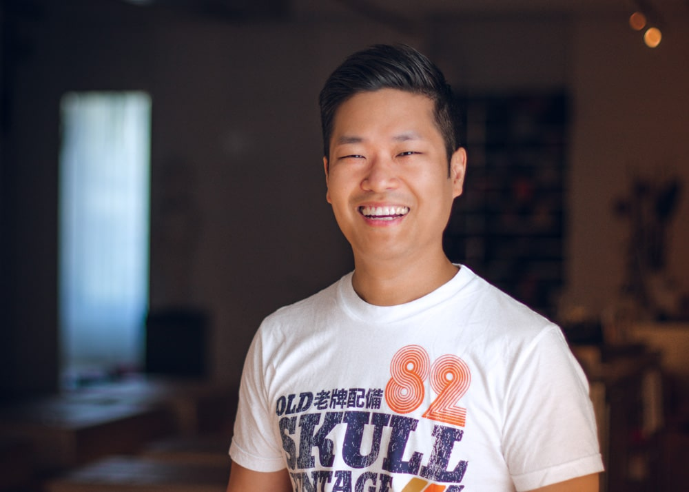 portrait of inside flow founder Young Ho Kim
