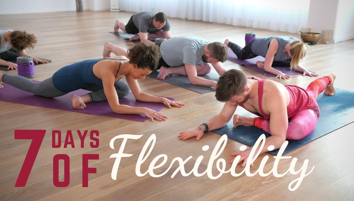 7 Days of Flexibility with Finlay Wilson - Forrest Yoga
