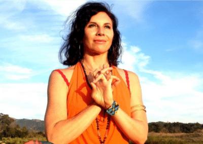 portrait of yoga instructor Sianna Sherman