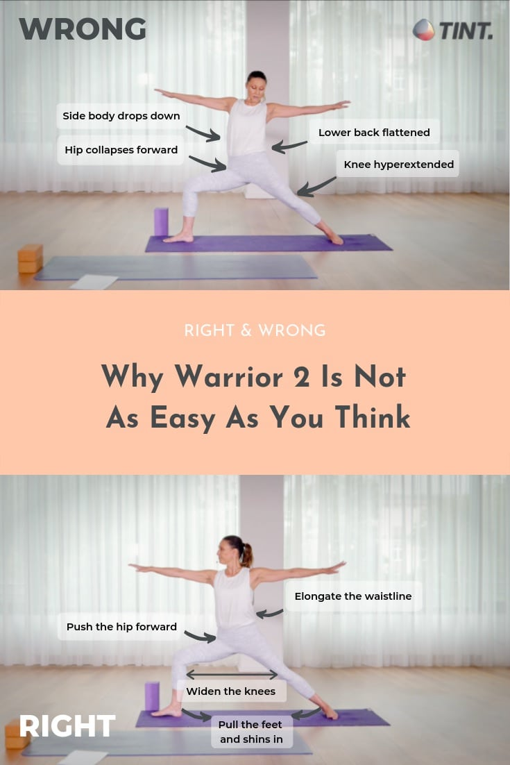 Warrior 50 A Yoga Pose That Is Not As Easy As You Think   TINT Yoga