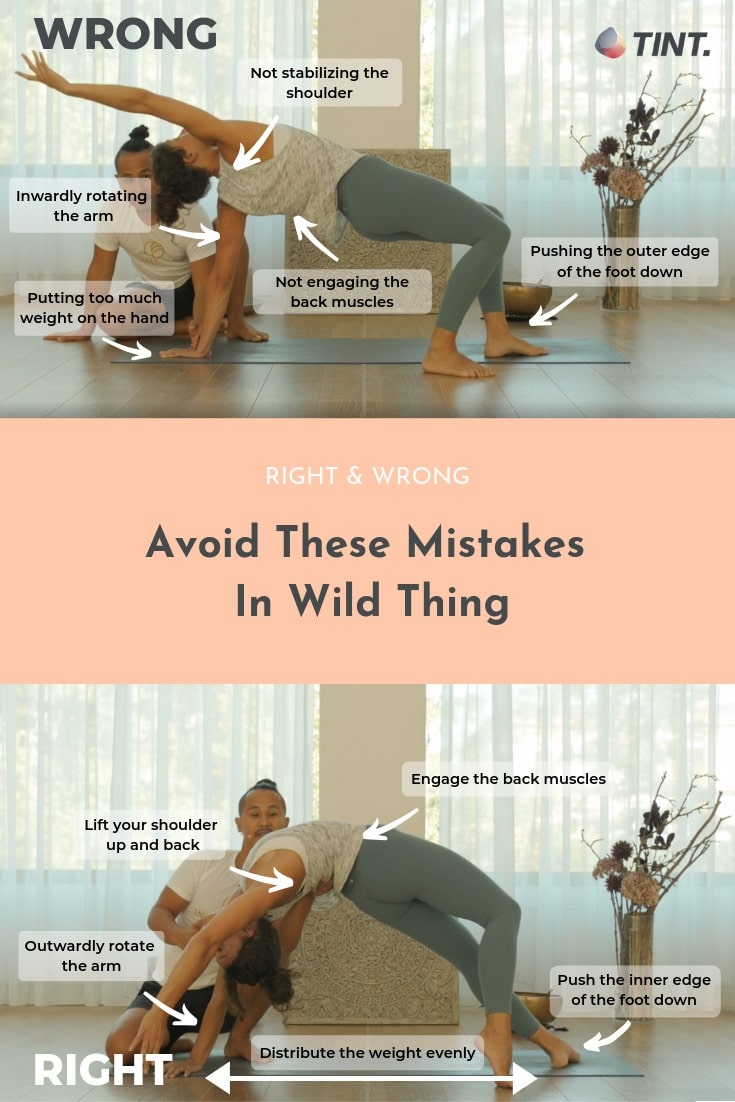 Wild Thing A Yoga Pose To Open Your Heart   TINT Yoga