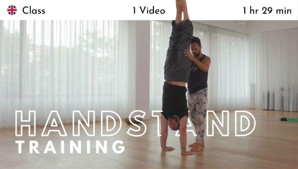 Jason Nemer - Handstand Training