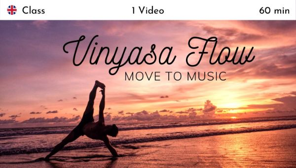 Hie Kim - Vinyasa Flow: Move to Music - Live