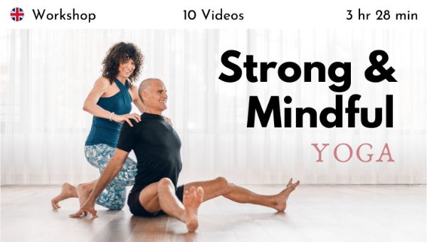 Desirée Rumbaugh & Andrew Rivin - Strong and Mindful Yoga