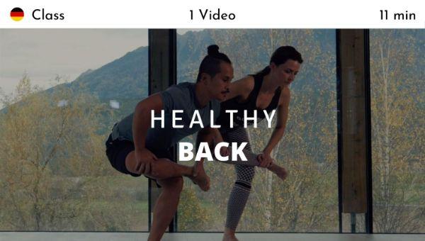 Young Ho Kim - Healthy Back (German)