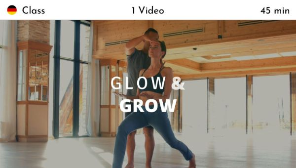 Young Ho Kim - Glow and Grow (German)