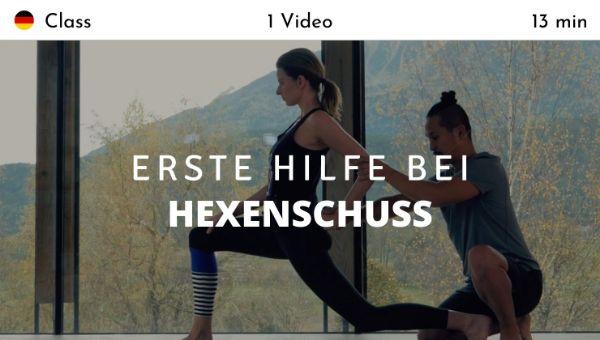 Young Ho Kim - Erste Hilfe bei Hexenschuss (German)