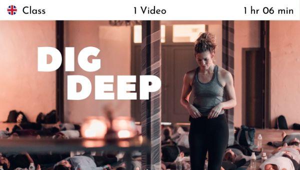 Alexandra Harfield - Dig Deep - Live