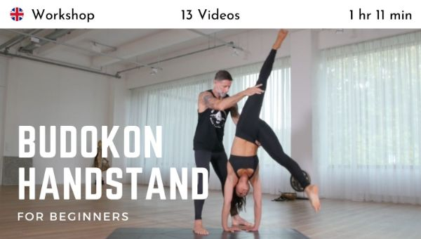 Cameron Shayne - Budokon Handstand for Beginners