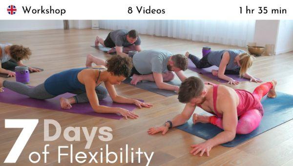 Finlay Wilson - 7 Days of Flexibility