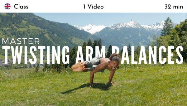 Mathieu Boldron - Master Twisting Arm Balances