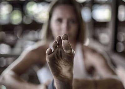 Janine.lustforlife.Yoga - Big Toe