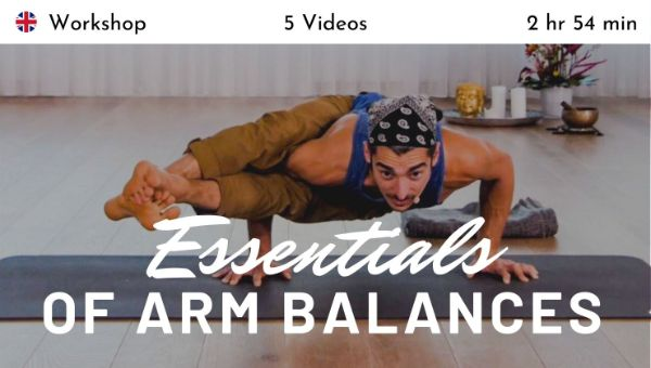 Matt Giordano - Essentials of Arm Balances