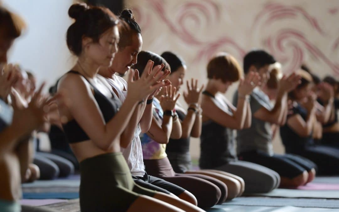 Inside Yoga Studio in Frankfurt – One of the world's biggest yoga schools