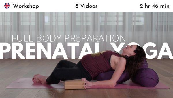 Nicole Bongartz - Prenatal Yoga - Full Body Preparation