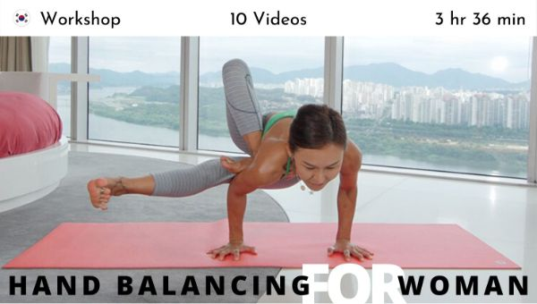 Shaila Yoon - Hand Balancing for Women