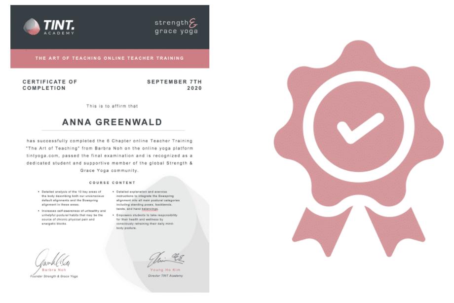 Certificate_The-Art-of-Teaching