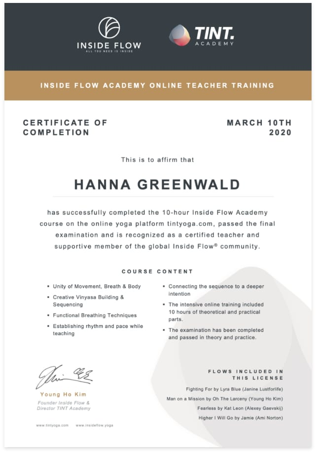 Preview TINT Academy Certificate (optimized for mobile)