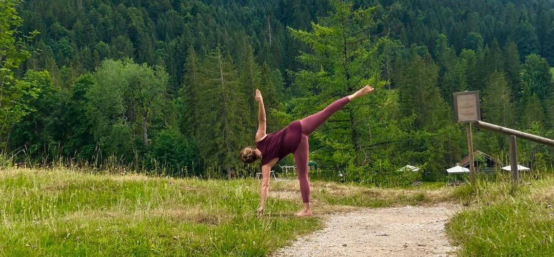 Find Your Balance in Half Moon Yoga Pose
