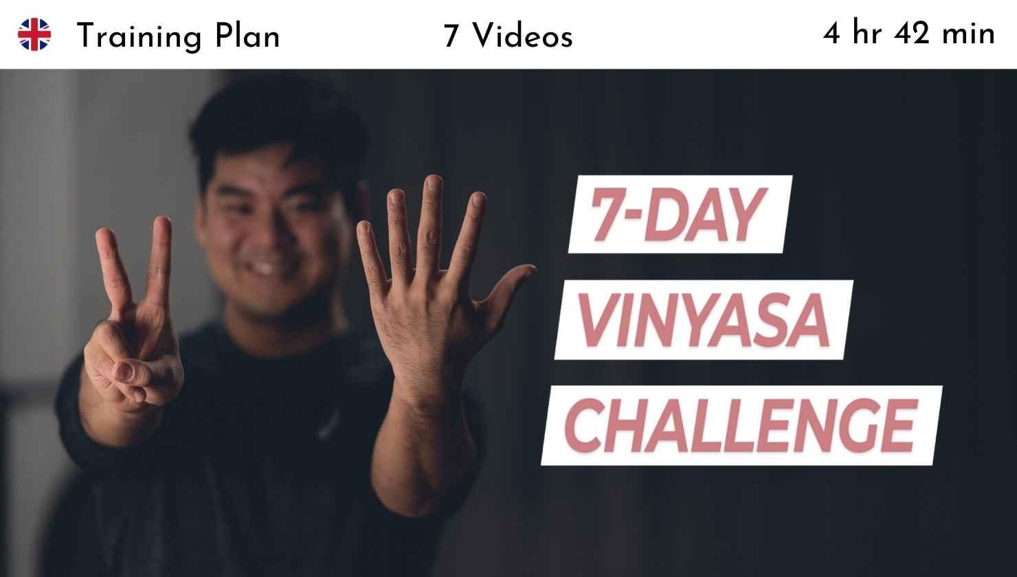 7-Day Vinyasa Challenge Hie Kim